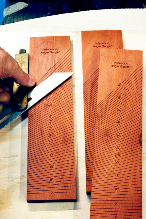 Interwood Angle Gauge